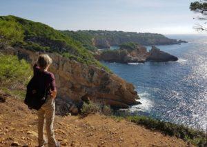 Martine Carraud artiste peintre contemporain - recherche de paysages de formes et de reflets à St Cyr sur Mer - Riviera