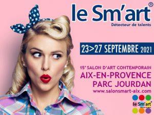 Retrouvez l artiste Martine Carraud au Smart 2021 art contemporain Aix en provence septembre 2021